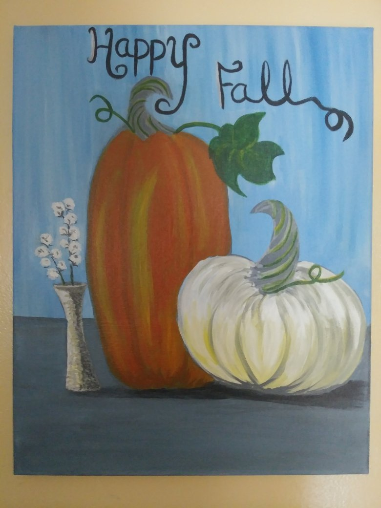 Happy Fall - Design owned by Generations Boutique and Studio
